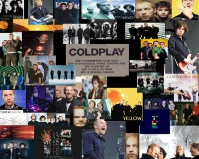 coldplay collage